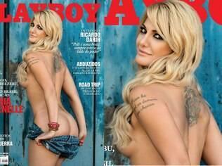 Antônia Fontenelle na capa da edição de julho da 'Playboy'