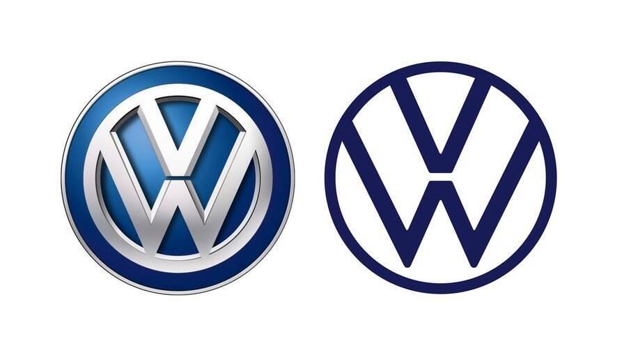 Novo logo da Volkswagen marca início do processo de eletrificação