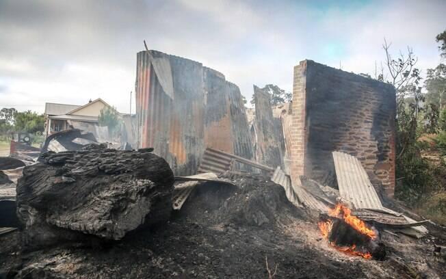 Incêndios na Austrália já destruíram mais de 12 mil hectares