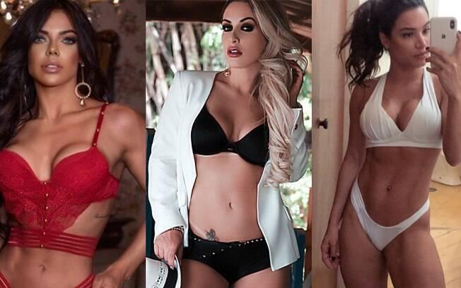 Suzy Cortez, Iarinha Ferreira e Raissa Barbosa