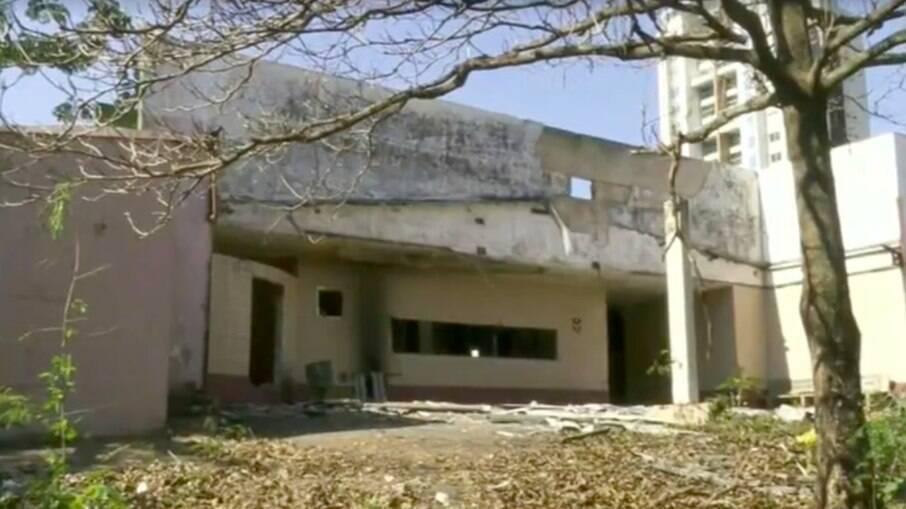 O prédio está desativado desde 2006