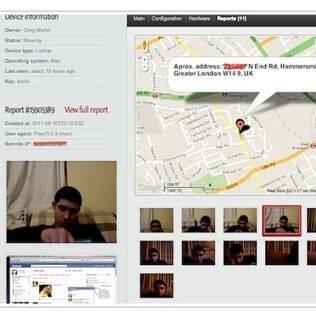 Hacker usou programa de rastreamento para achar o ladrão
