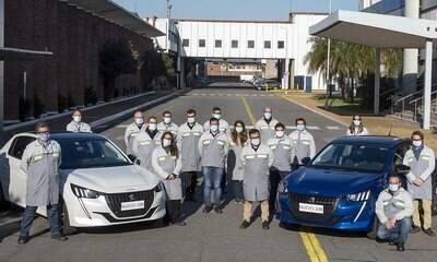 Peugeot começa a fabricar nova geração do 208 na Argentina