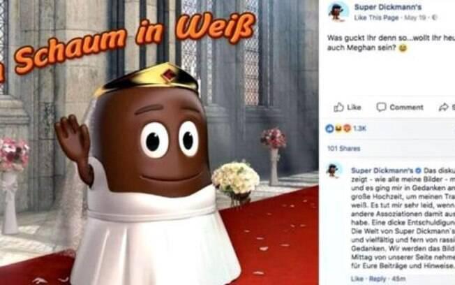 Usuários da rede social consideraram que a confeitaria alemã Super Dickmann's foi extremamente racista