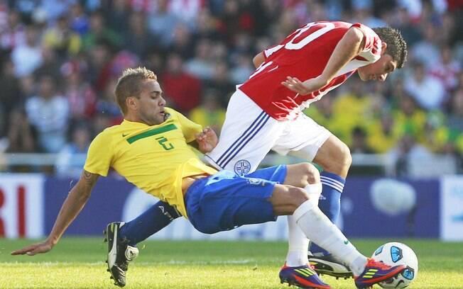 A Seleção foi eliminada pelo Paraguai nos pênaltis na Copa América de 2011.