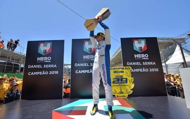 Daniel Serra foi campeão da Stock Car em 2018