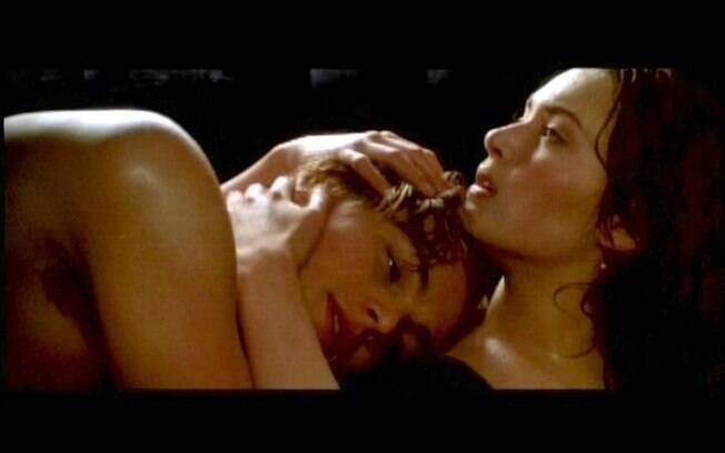 No filme 'Titanic', Jack (Leonardo DiCaprio) e Rose (Kate Winslet) transam em um carro