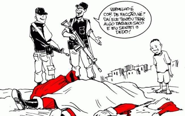 0606aad39b71 Resultado de imagem para violência no brasil ilustração