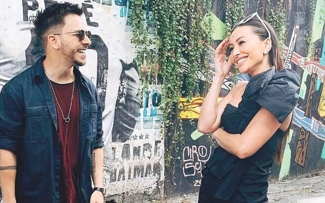 Junior Lima e Sabrina Sato