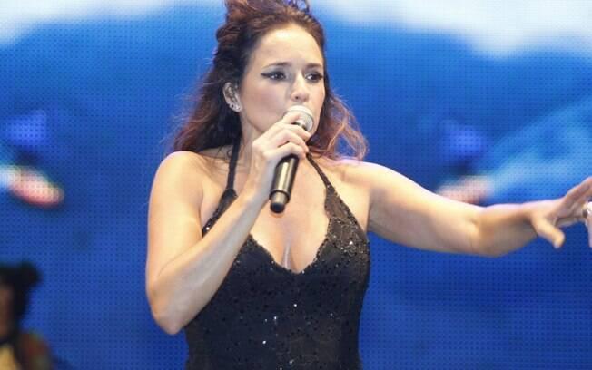 Daniela Mercury imortalizou