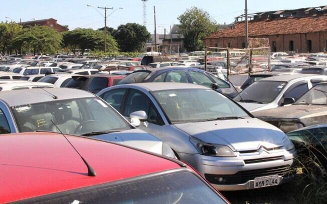 Pátio de Campinas terá 3º leilão on-line de veículos com 439 lotes