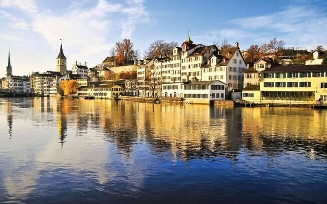 Zurique está entre os destinos do roteiro