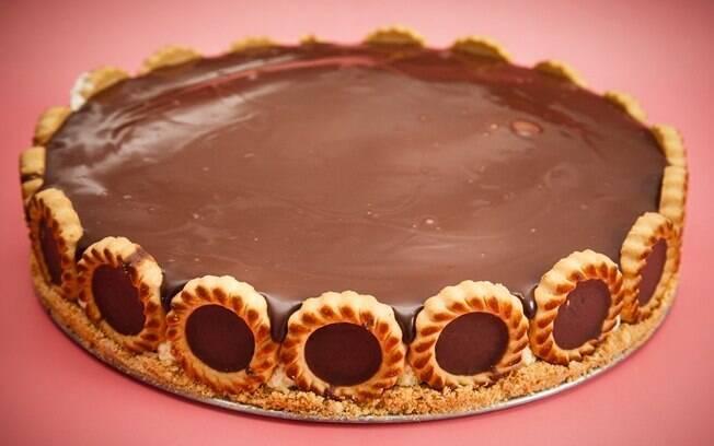 Foto da receita Torta holandesa pronta.