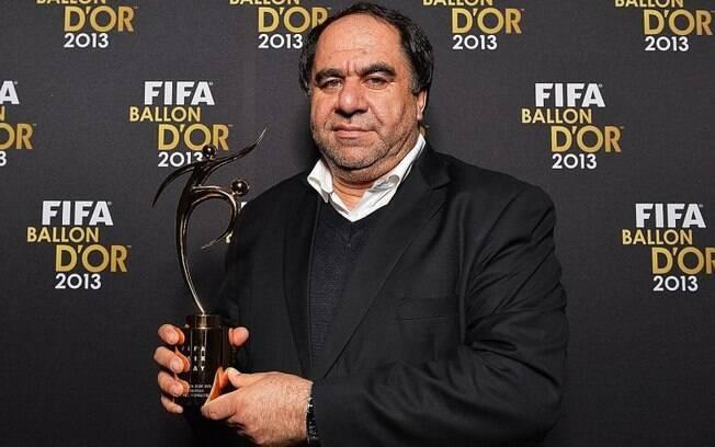 Keramuddin Keram é presidente da Federação Afegã de Futebol desde 2004