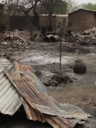 Baga, em foto de abril de 2013, já foi cenário de violência entre o Boko Haram e o Exército