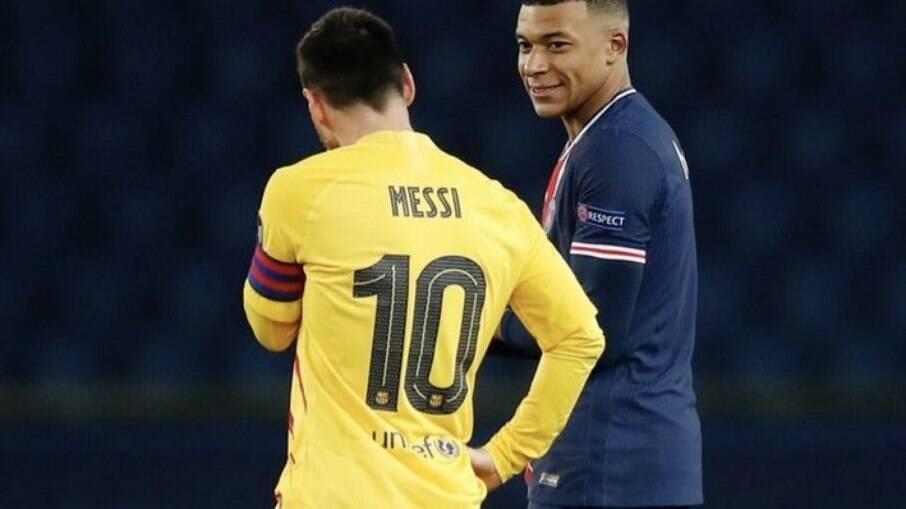 Mbappé e Messi