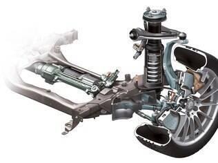 Molas, amortecedores e braços de suspensão em dia garantem segurança e estabilidade nas curvas