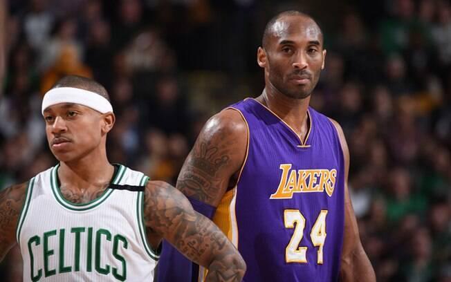 Ex-adversários: Isaiah Thomas tem buscar conselhos com Kobe Bryant, principalmente após morte da irmã