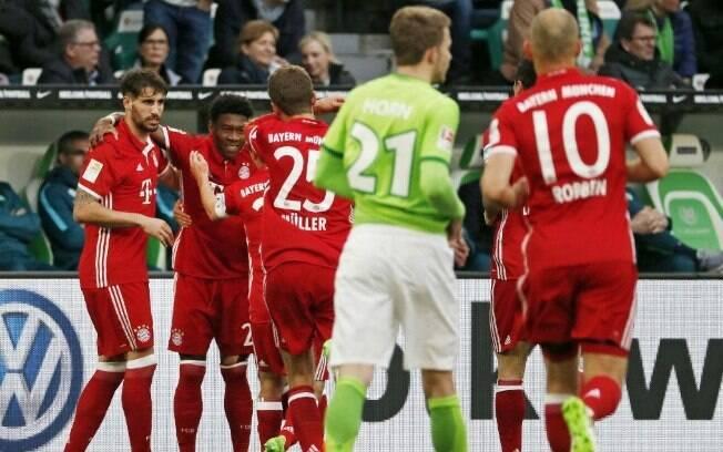 Bayern de Munique venceu fora de casa e conquistou a Bundesliga