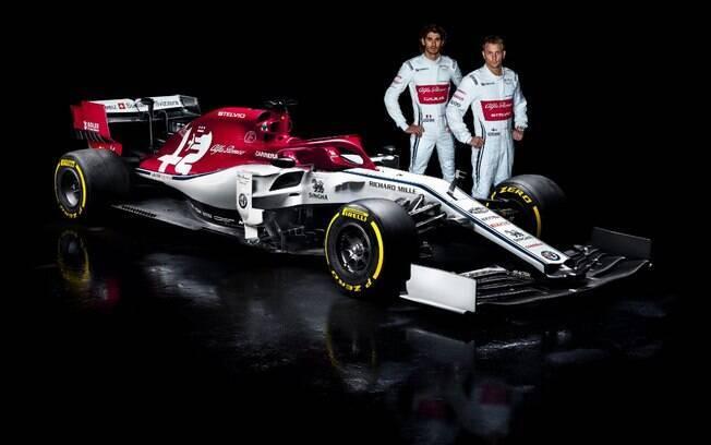 C38, carro da Alfa Romeo para a temporada 2019 da Fórmula 1