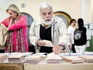 Democracia. Espanhóis foram às urnas no domingo para escolher prefeitos, como em Madri