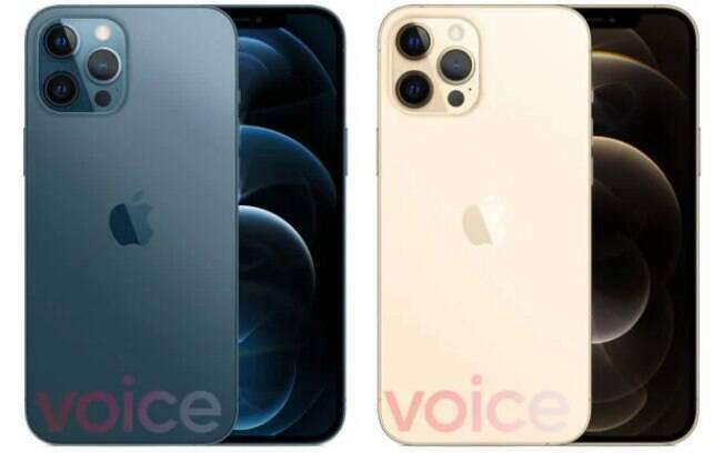 Vazamento do iPhone 12 Pro Max