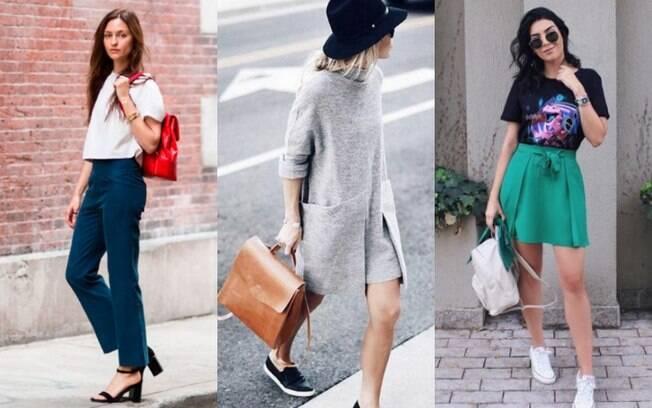 Para dar uma variada nos looks mochila de couro, por que não escolher as opções de acessórios que fujam do preto?