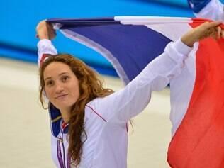 Nadadora Camille Muffat