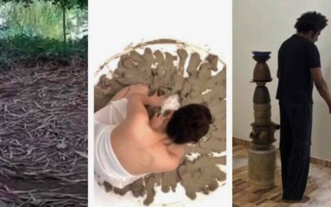 Subsolo é palco de discussões artísticas sobre corpo e ritual