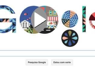 Google faz homenagem ao gênio da matemática.