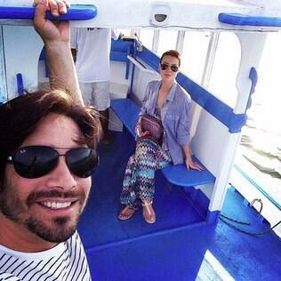 Camila Rodrigues e o marido Roberto Costa