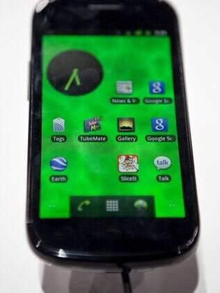 Nexus S: o único celular compatível com o Google Wallet