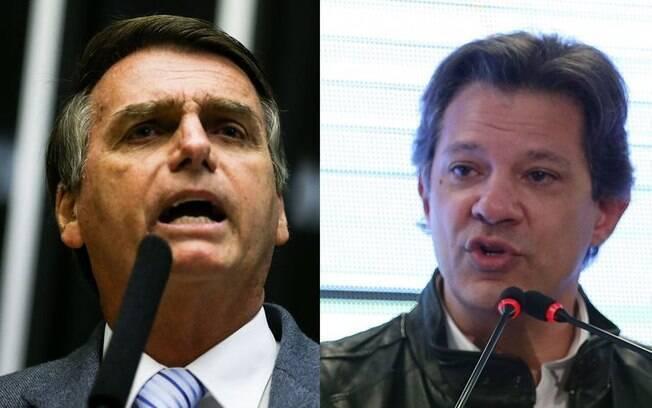 Fernando Haddad (PT) e Jair Bolsonaro (PSL) estreiam na propaganda eleitoral do 2º turno fazendo troca de acusações e com poucas propstas