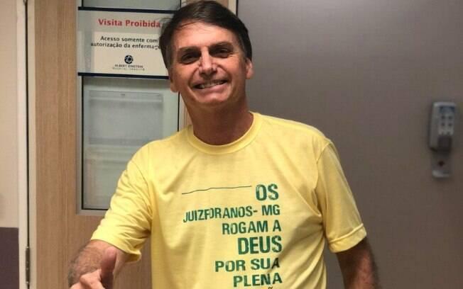 Candidato Jair Bolsonaro (PSL) foi esfaqueado durante comício em Juiz de Fora (MG), no dia 6 de setembro