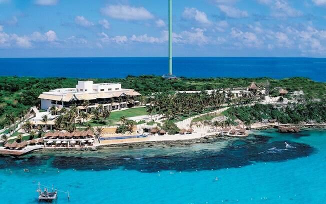 Isla Mujeres é lugar paradisíaco, em Cancún