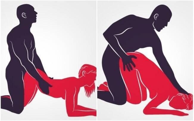 Na posição em que a mulher fica de quatro, ter um bumbum grande pode dificultar a penetração. Se ela se inclinar ou amontoar alguns travesseiros na cama e deitar-se sobre eles, porém, o problema pode ser contornado