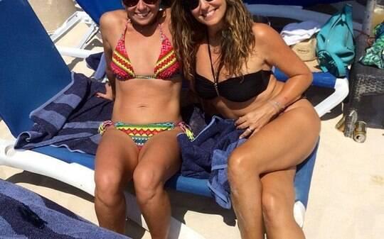 De biquíni, Giovanna Antonelli mostra corpo em forma - Home - iG