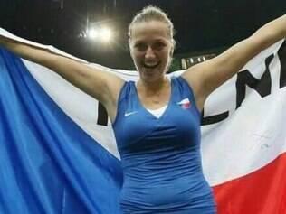 Kvitova precisou de 2h58 para vencer a Angelique Kerber por 2 sets a 1