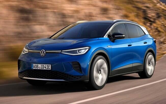 Volkswagen ID.4: SUV 100% elétrico é o modelo da nova família com a base MEB a chegar ao Brasil até 2023