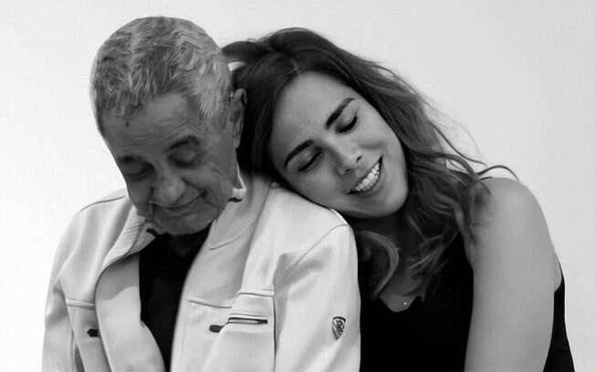 Wanessa Camargo lamenta a morte do avô