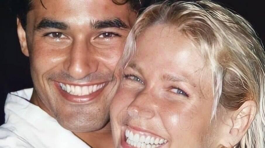 Xuxa e Luciano Szafir, quando estavam juntos