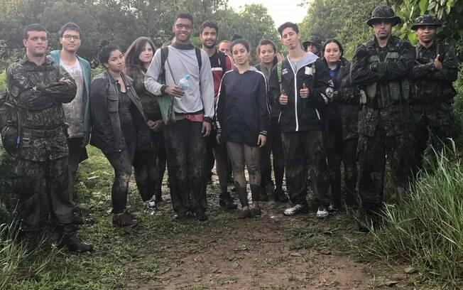 COE realiza resgate de estudantes na Serra do Mar
