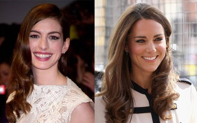 Anne Hathaway e Kate Middleton