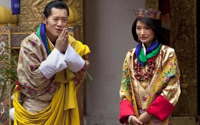 Jigme Khesar Namgyel Wangchuck, conhecido como Rei Dragão, é o monarca do Butão