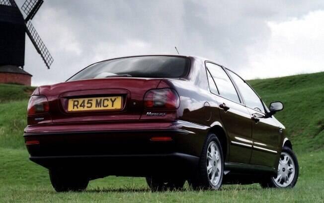 O Fiat Marea agradava pela esportividade, mas sua primeira traseira não era das mais elegantes e sofisticadas