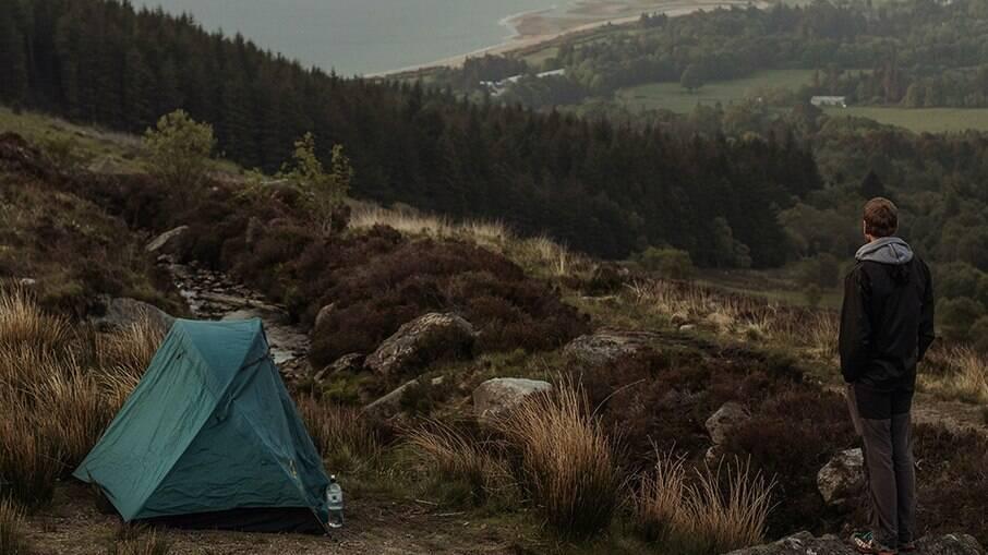 Acampamento ao ar livre