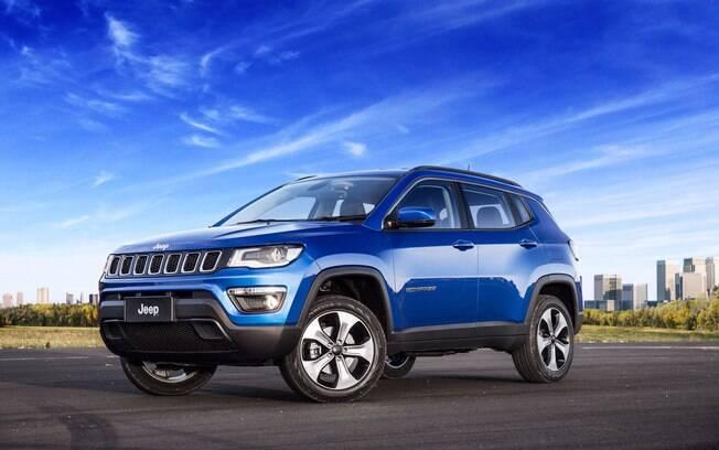 Jeep Compass ultrapassa o Honda HR-V e se torna o SUV mais vendido do Brasil no mês de abril