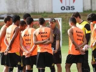 Tigre fechou a preparação para encarar o Bahia em solo baiano