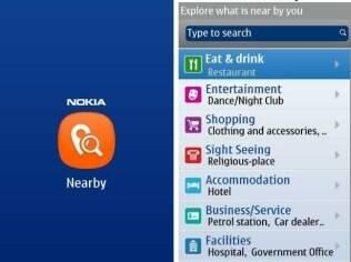 Nokia Nearby, aplicativo que mostra pontos de interesse próximos ao usuário sem GPS