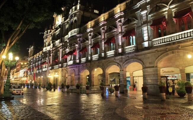 Puebla está na lista das cidades do México que são Patrimônio Mundial